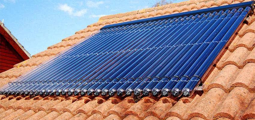 Esempio pannello solare termico